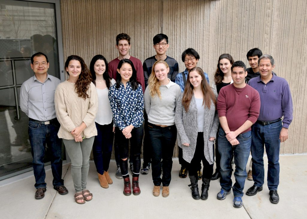 Winter 2016 Intern Group Photo