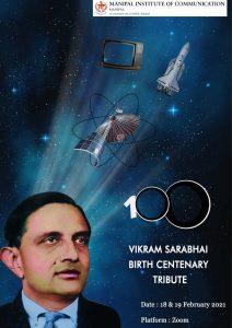 Noshir Contractor at the Vikram Sarabhai Birth Centenary Tribute